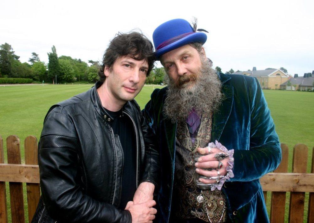 Neil Gaiman e Alan Moore_Dave McKean