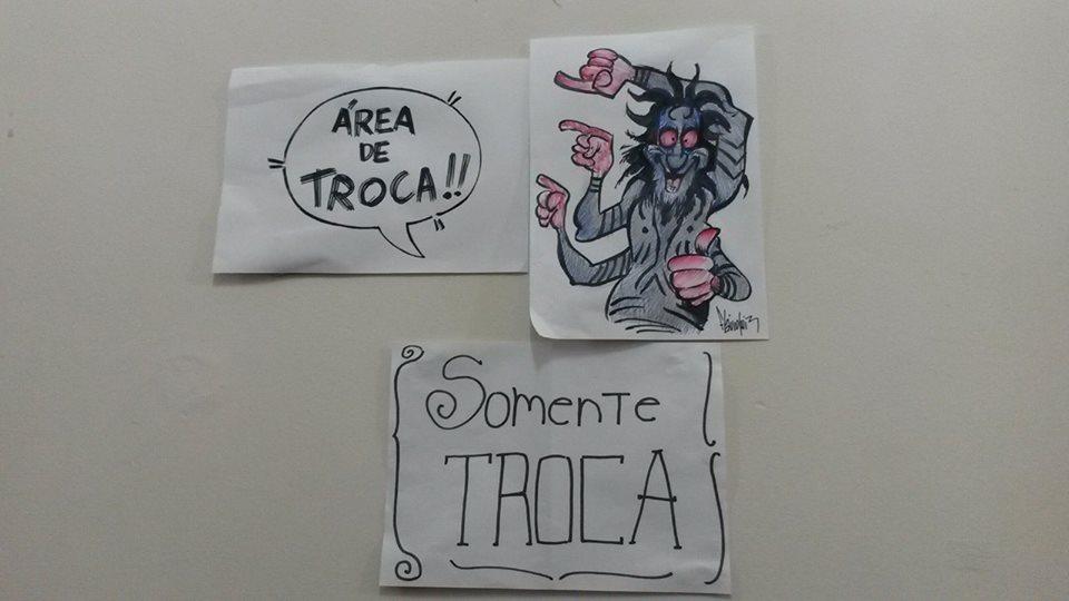 Festival Guia dos Quadrinhos_Area de troca